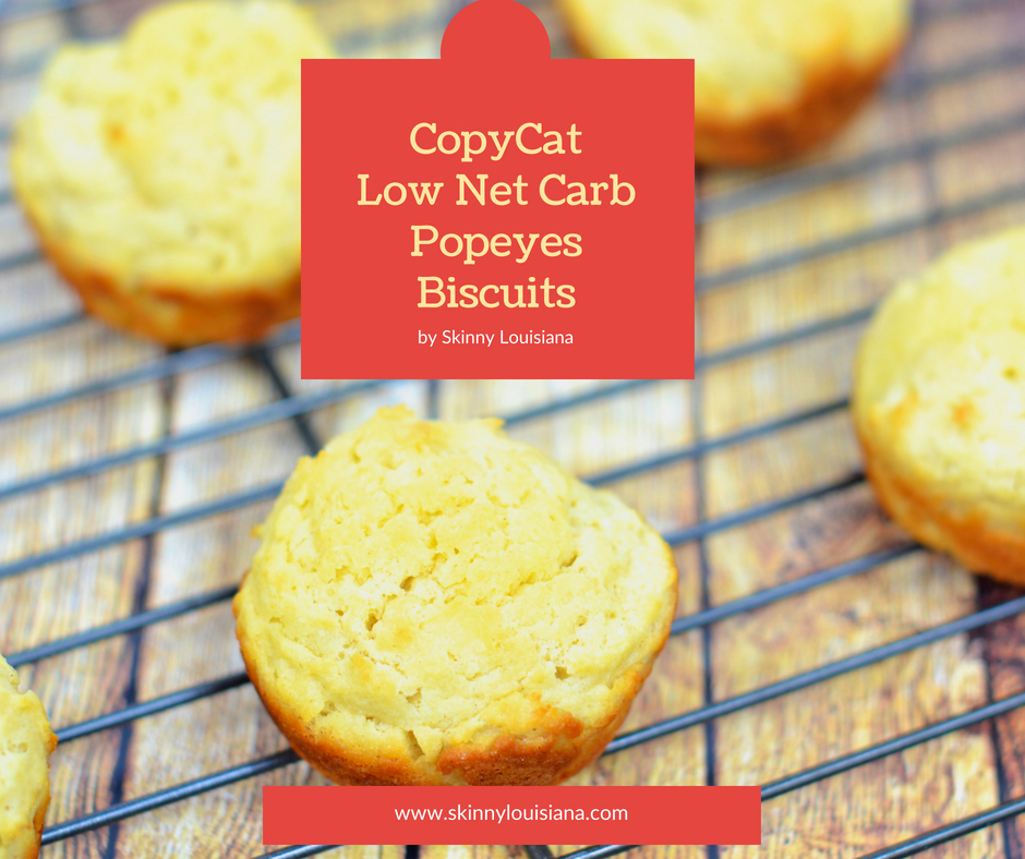 Copycat Low Net Carb Popeyes Biscuits