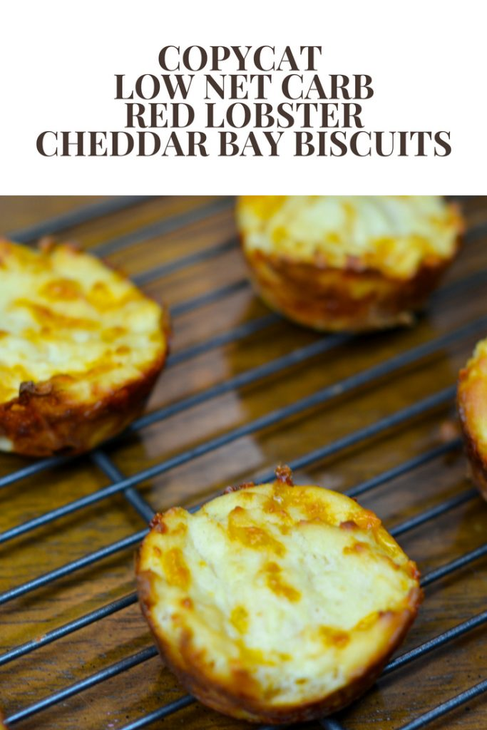 Copycat Low Net Carb Red Lobster Cheddar Bay Biscuits