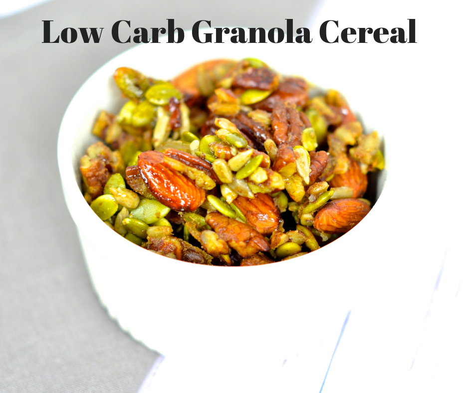 low carb granola cereal