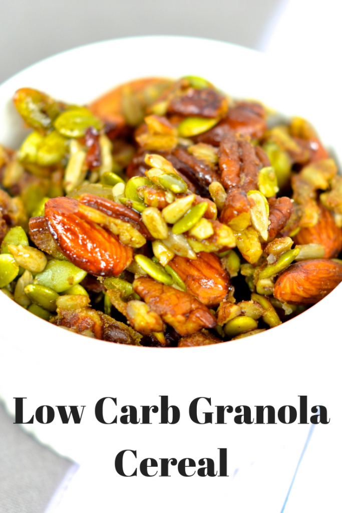 Low Carb Granola Cereal Recipe