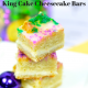 Low Carb King Cake Cheesecake Bars