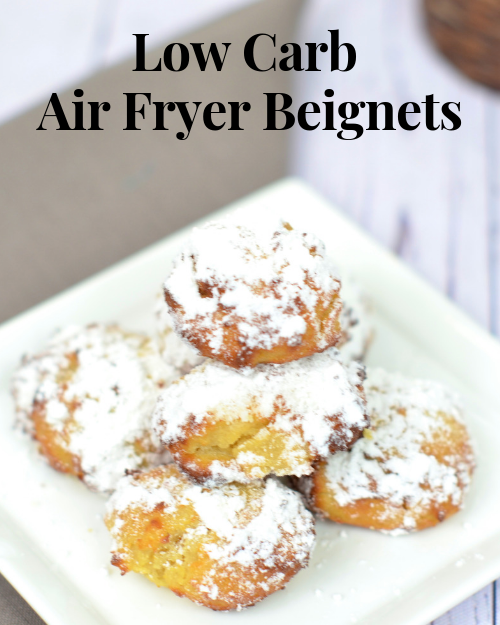 Low Carb Air Fryer Beignets Skinny Louisiana